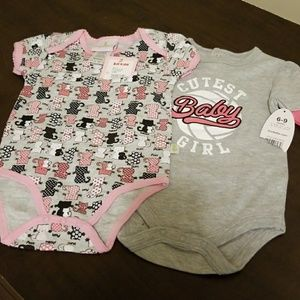 Baby onesie, set of 2